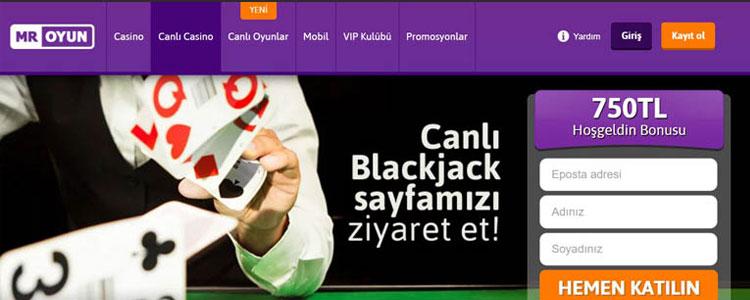mr oyun blackjack